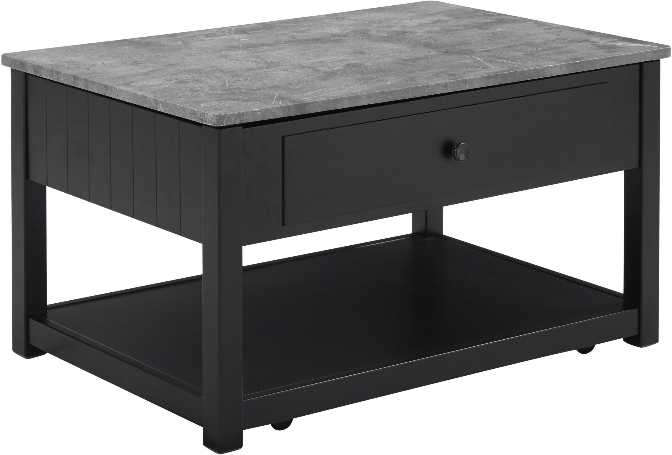 signature design by ashley ezmonei black and gray lift top cocktail table ezmonei collection. Black Bedroom Furniture Sets. Home Design Ideas