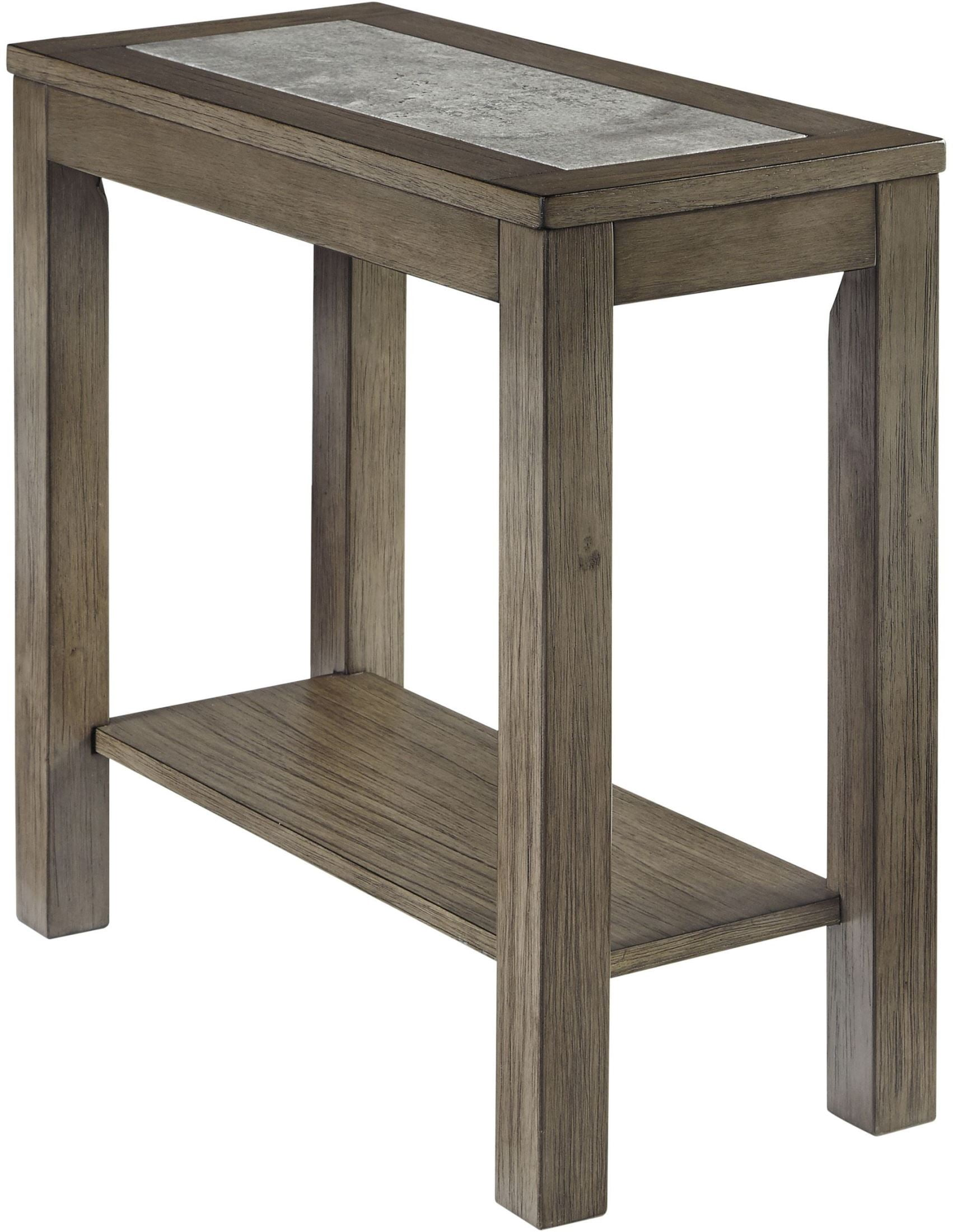 Deylin Grayish Brown Chair Side End Table 1stopbedrooms
