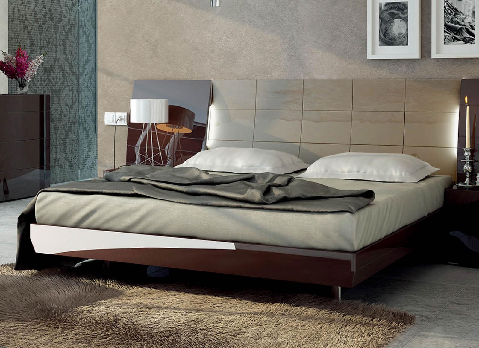 ESF ESF Furniture Barcelona King Platform With Storage Bed