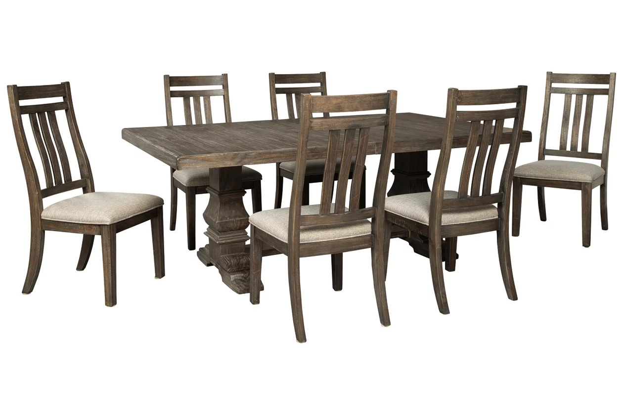 Charmond Brown Extendable Dining Room Set 1stopbedrooms
